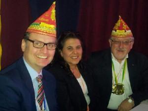 Dr. Günter Krings (MdB), Gülistan Yüksel und Hans Willi Körfges (MdL)