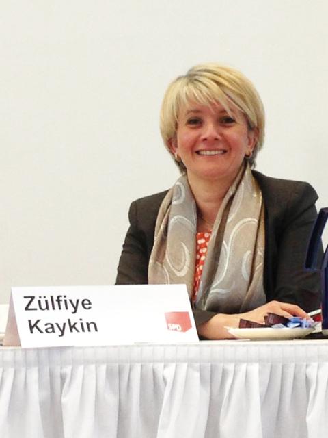 Staatssekretärin Zülfiye Kaykin (Foto: Demet Arslanbas Özkesemen)