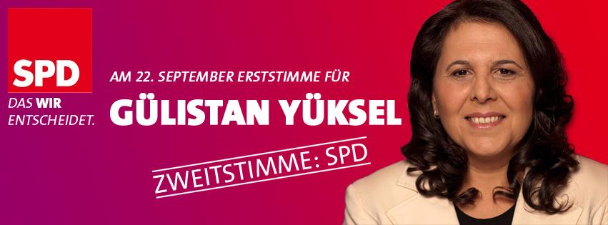 Gülistan Yüksel wählen