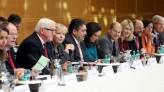"""In deiser Woche tagte die """"Große Koalitionsrunde"""" erstmals im Willy-Brandt-Haus. (Foto: DPA)"""