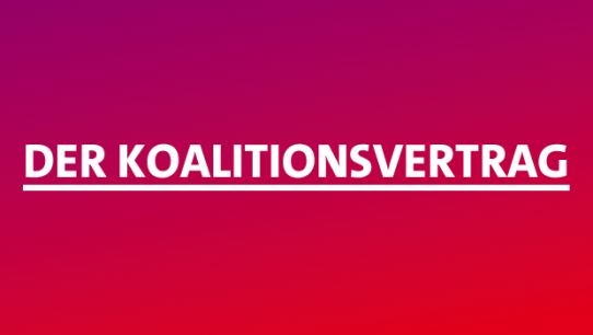 Der Koalitionsvertrag