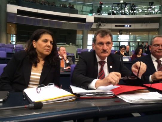 Im Plenum mit Uli Hampel