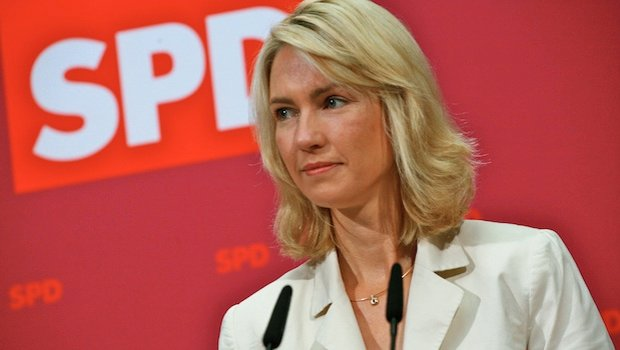 Bundesministerin Manuela Schwesig