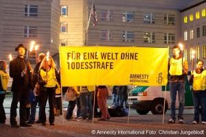 Amnesty Aktion gegen Todesstrafe; Berlin, 10.10.2010