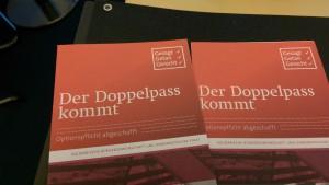 Broschüre Doppelpass