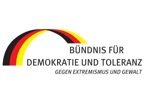 Demokratie und Toleranz Logo