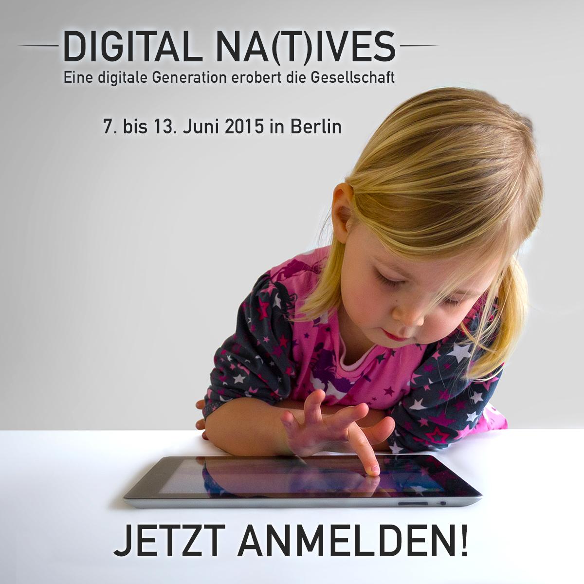 Wie selbstverständlich gehen Kinder heute mit Technologie um. (foto: bpb)