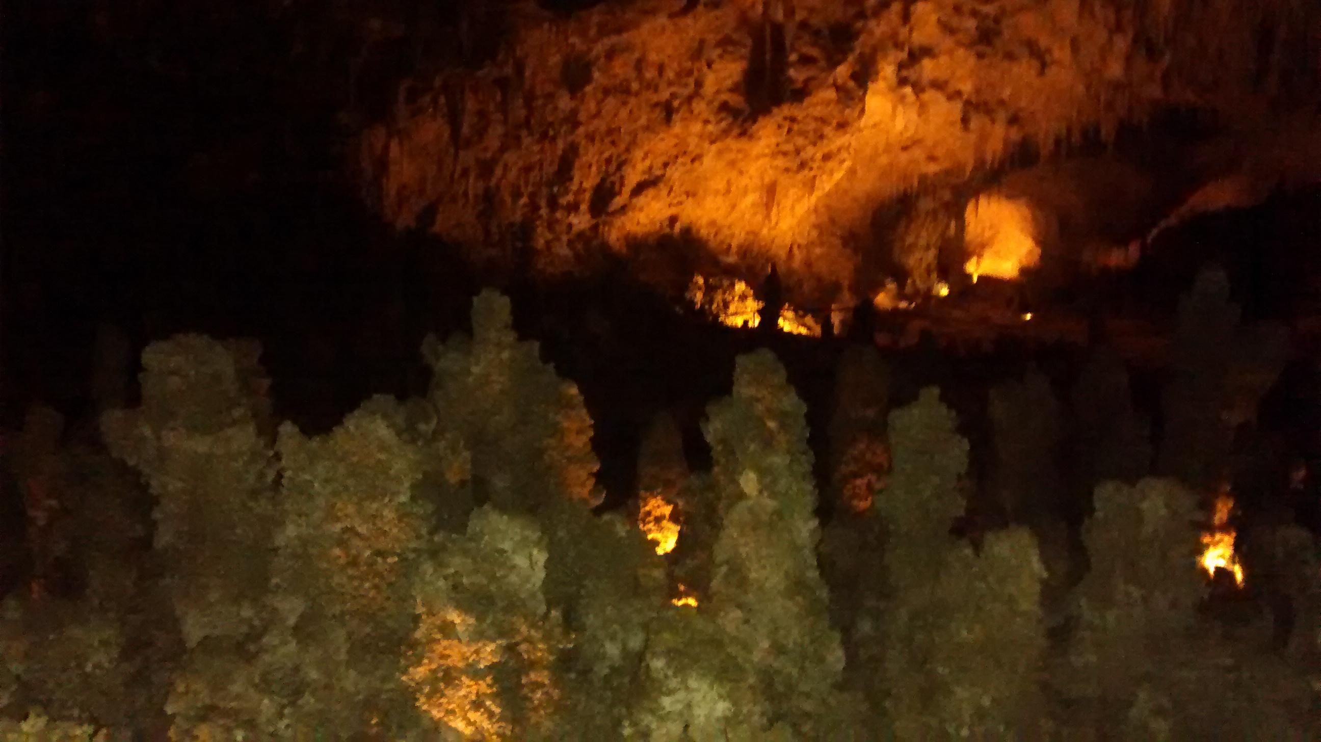 Tropfsteinhöhle in New Mexico Foto: Eva Saehsen