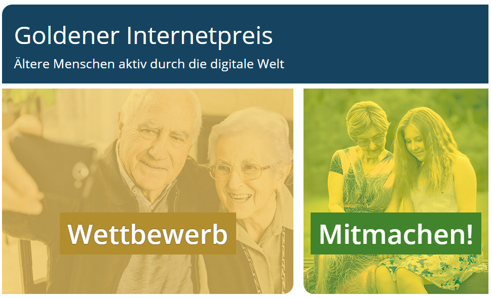 goldener Internetpreis