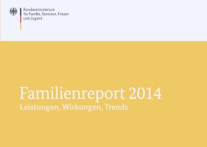 Familienreport 2014