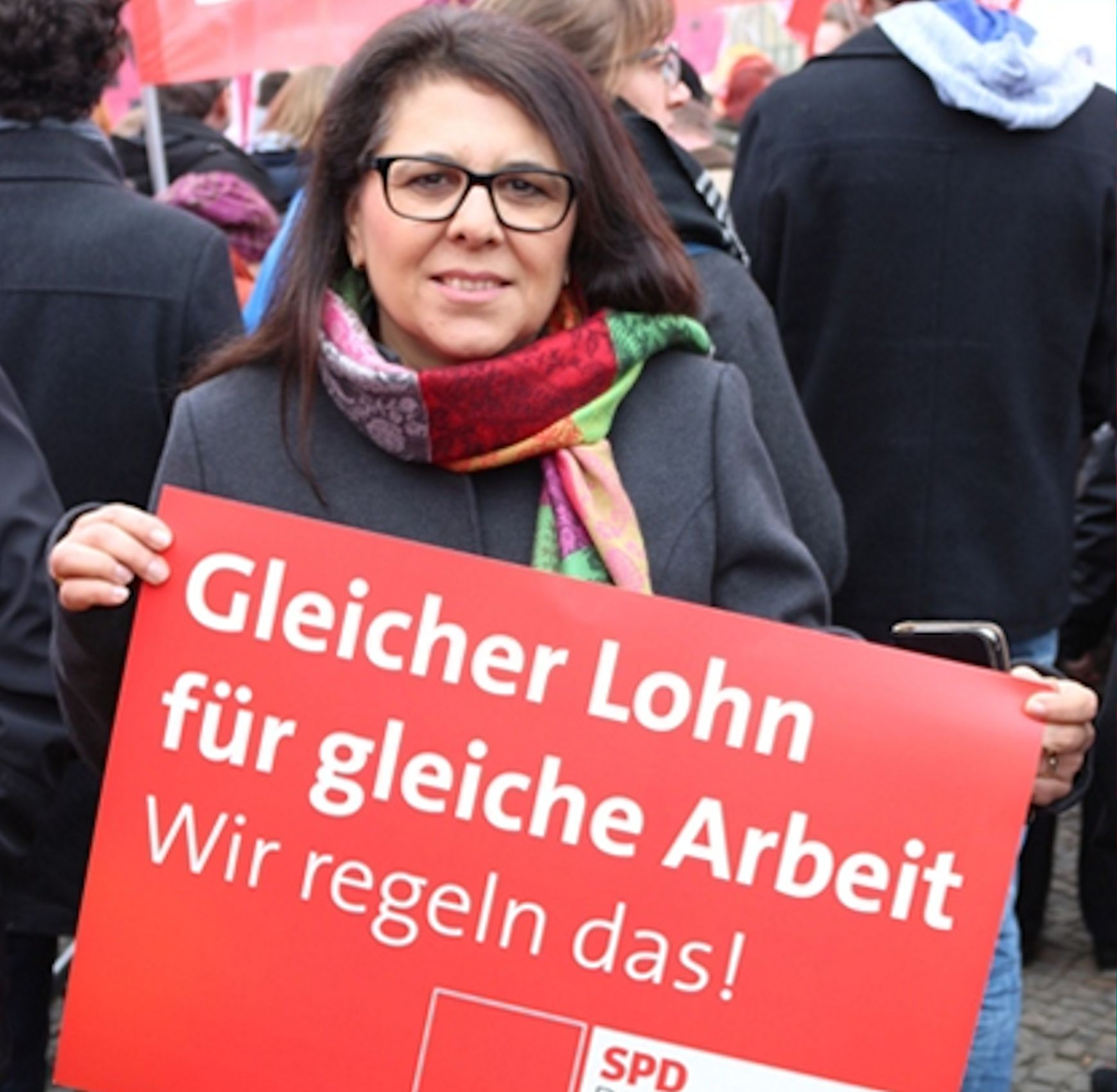 SPD-Bundestagsabgeordnete Gülistan Yüksel
