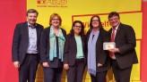 v.l.n.r. Dirk Heidenblut, Petra Rode-Bosse, Gülistan Yüksel, Kerstin Griese & Andreas Rimkus